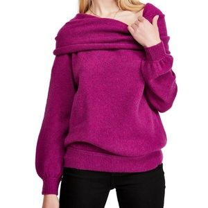 Free People Echo Beach Cowl Neck Pullover